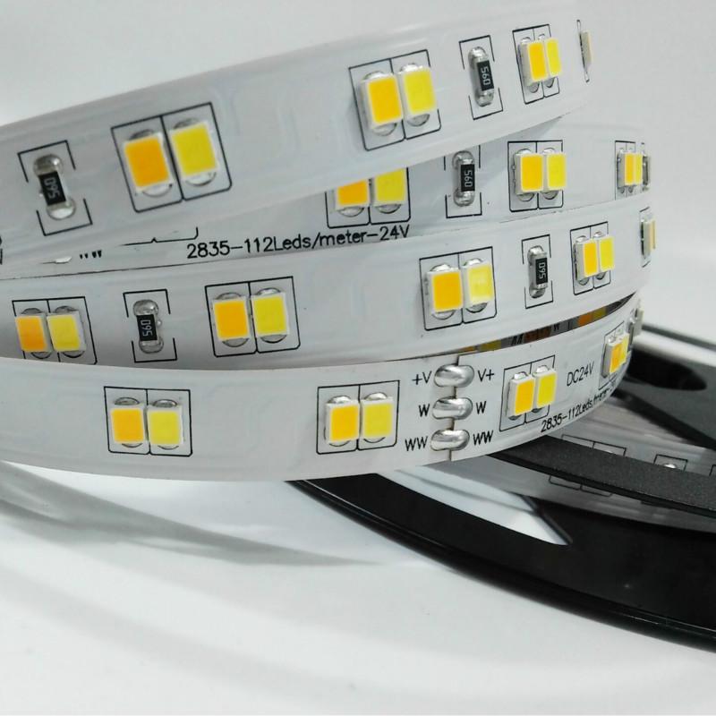 Double color temperature led strip