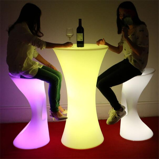 cocktail table led