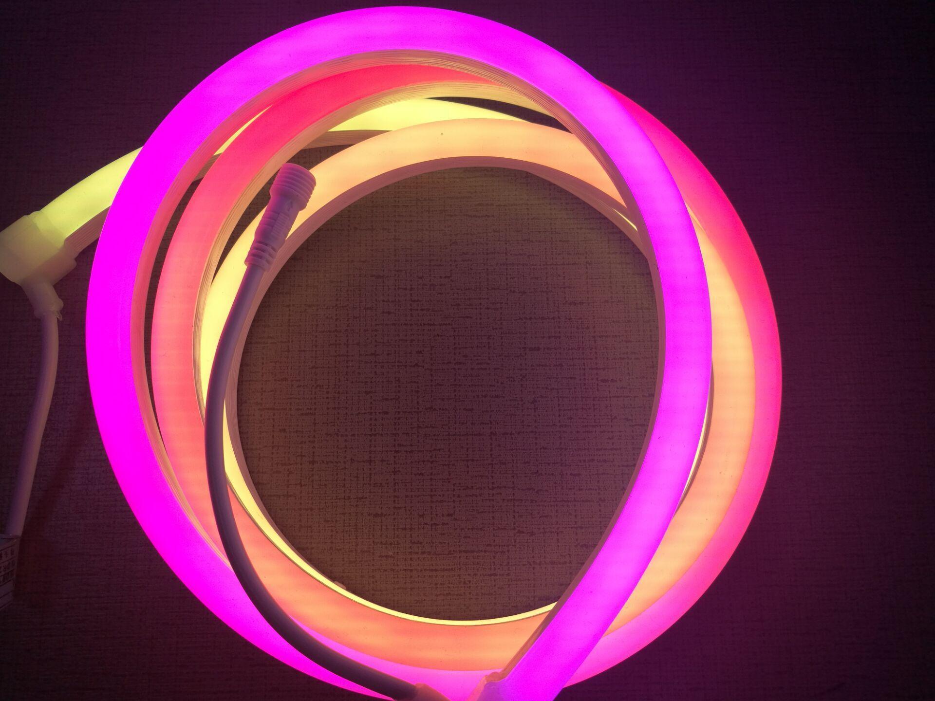 neon flex rgb dmx