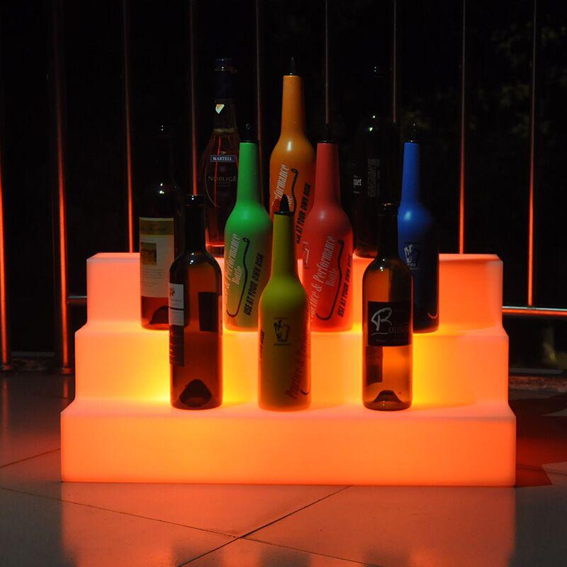 Terraces wine display