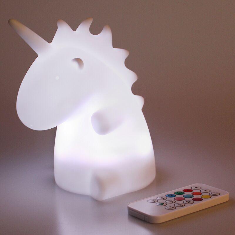 led unicorn night light