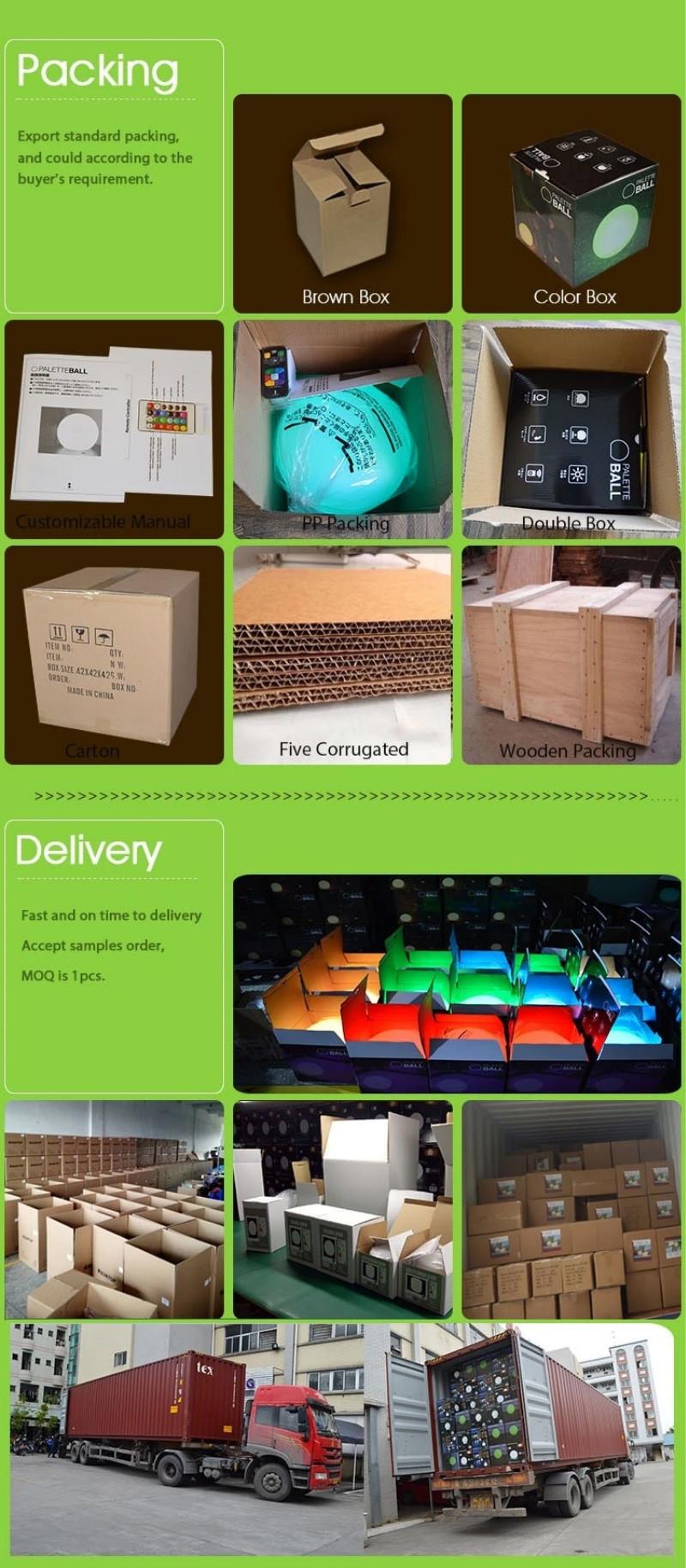 LED Light Speaker Package