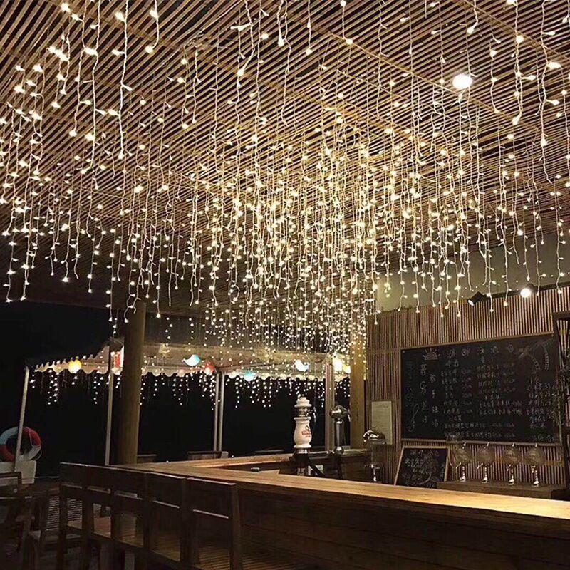 led string curtain lightv