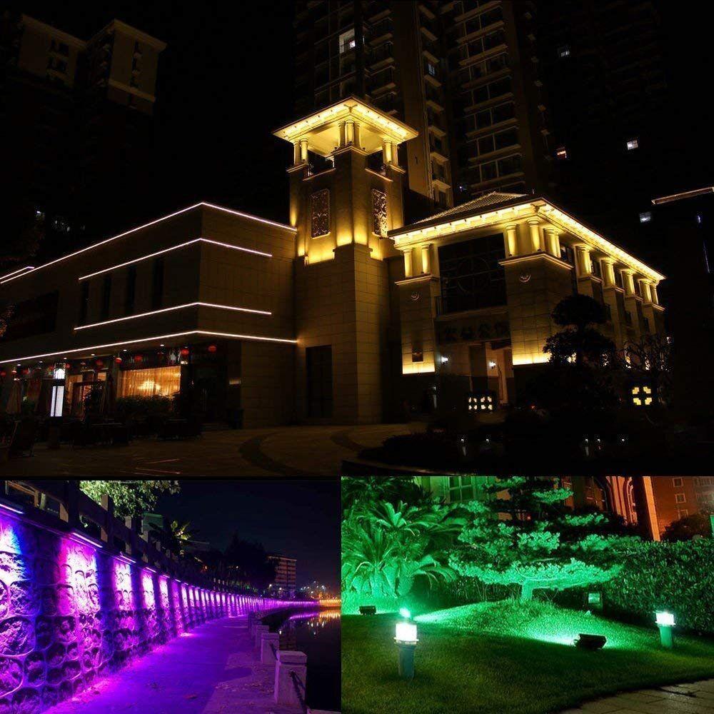 outdoor led rgb flood light