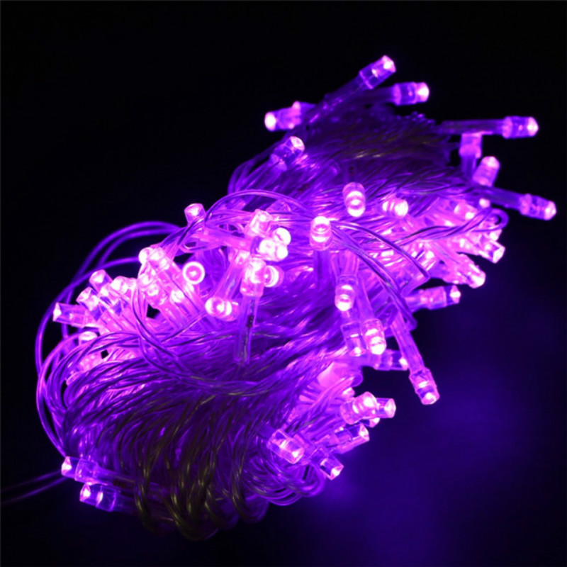 purple led string