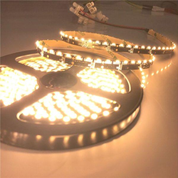warm led white strip light