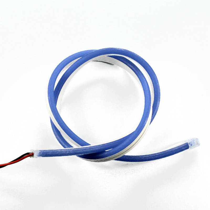 Blue Jacket Neon LED Flex