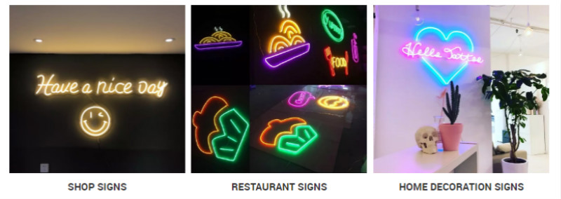 Neon Sign Application