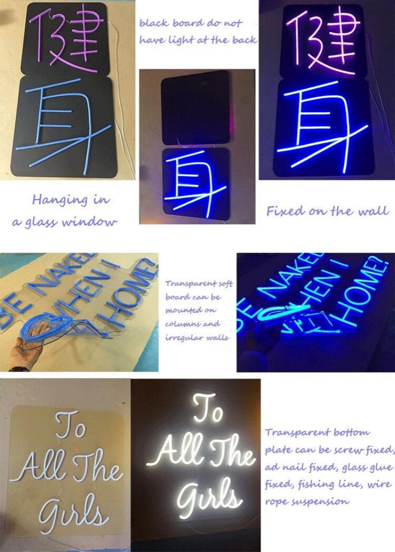 Neon Sign Installation