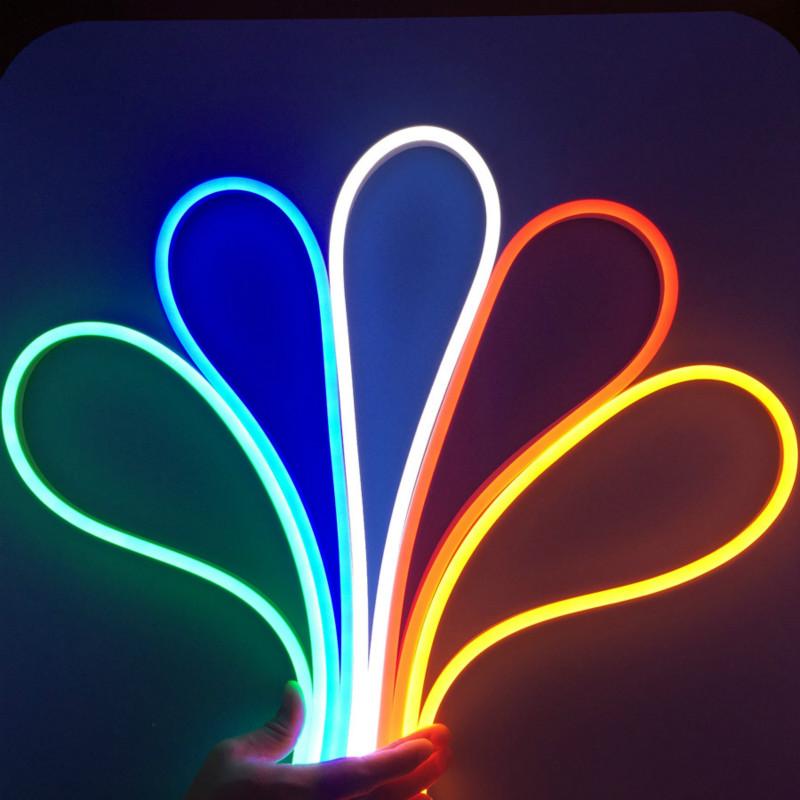 color jacket neon led flex