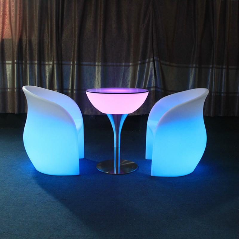 event led chair