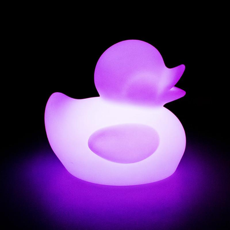 float light up rubber duck