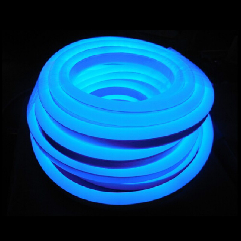 blue neon tube lights for rooms