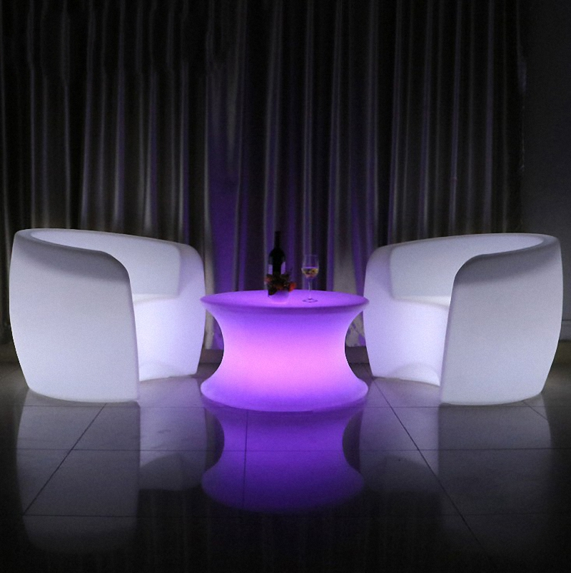 led furniture chair