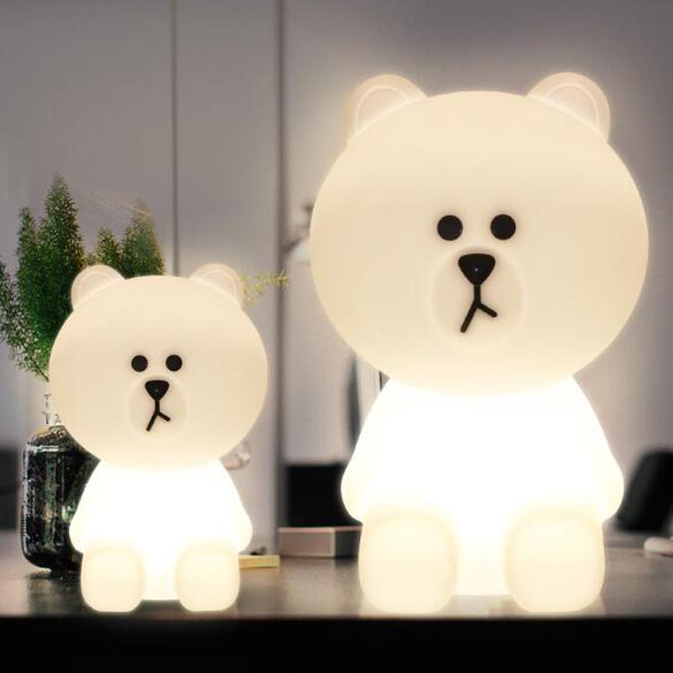 LED lys bjørn