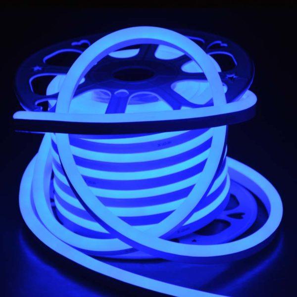 led neon blue