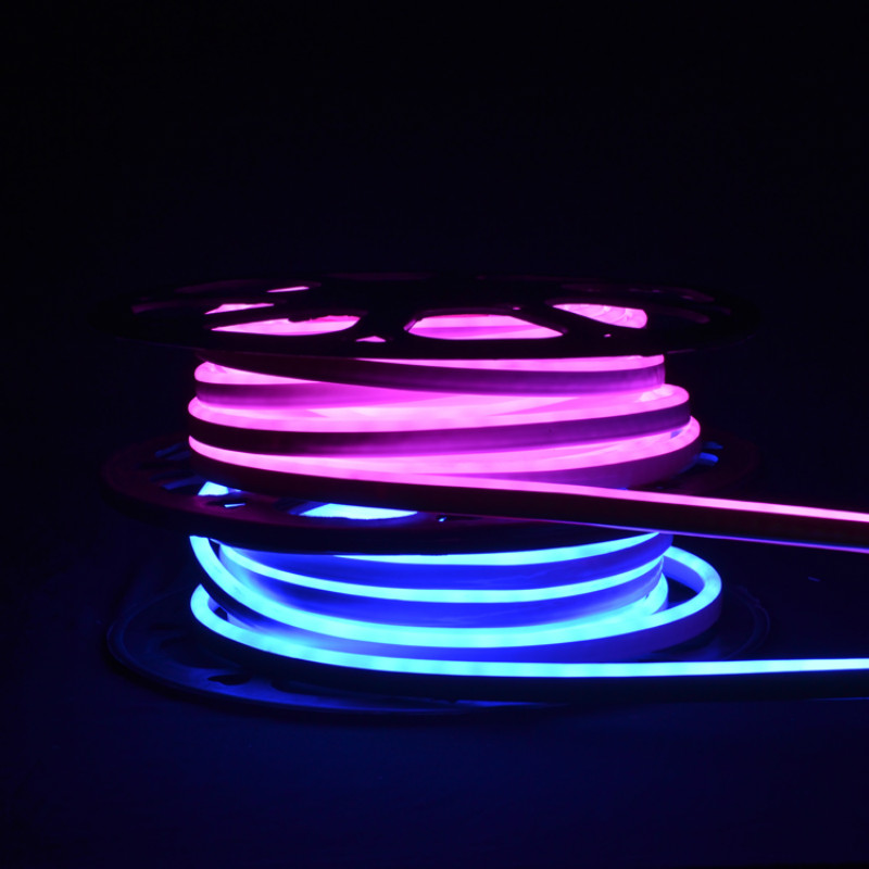 pink neon light