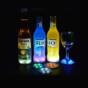 led light bottle sticker