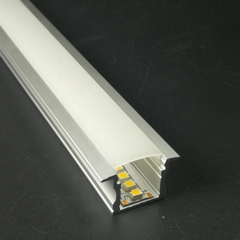 light led recessed channel 100mm