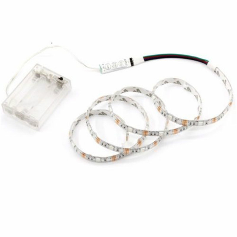 Battery RGB LED Strip