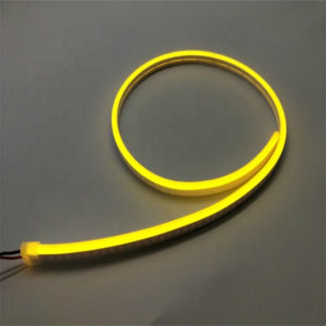 yellow led neon light
