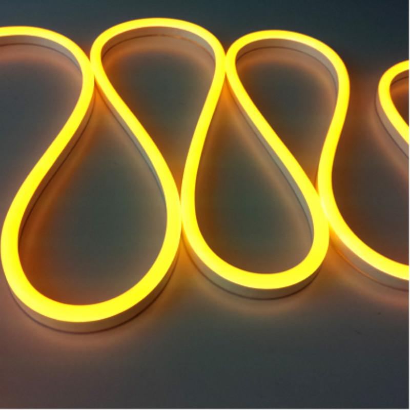 yellow light neon flex