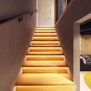 led stair sensor light